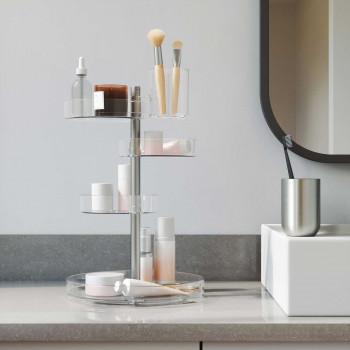 Umbra Porta cosmetici da bagno multiripiano  Trasparente    1015097-239