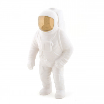 "Seletti Vaso in porcellana astronauta ""Cosmic Diner Starman"""