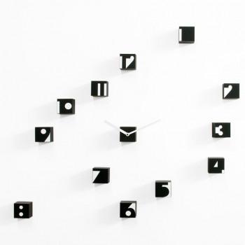 Progetti Orologio da parete moderno componibile Optical RND_Time