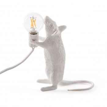 "Seletti Lampada da tavolo moderna ""Mouse Lamp-Step""      14884"