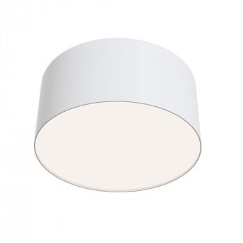 Maytoni Lampada da soffitto a LED piccola rotonda in alluminio dal design moderno Zon  Lumen 1300 4000k Luce Naturale  C032CL-L12