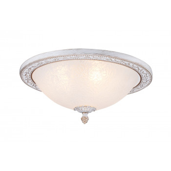 Maytoni Lampada da Soffitto classica struttura in metallo e paralume in vetro Aritos