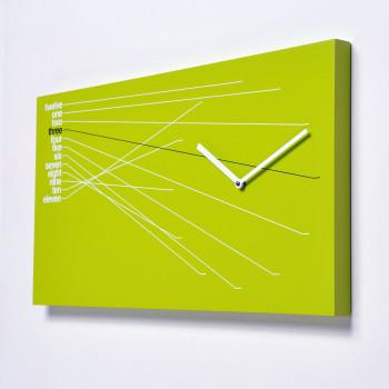 Progetti Orologio da parete moderno in legno Timeline