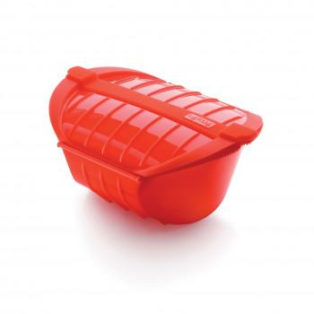 Lekuè Contenitore per microonde in silicone  Rosso    1841611
