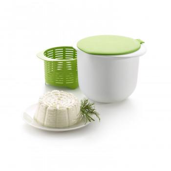 Lekuè Stampo per formaggio   Verde/Bianco