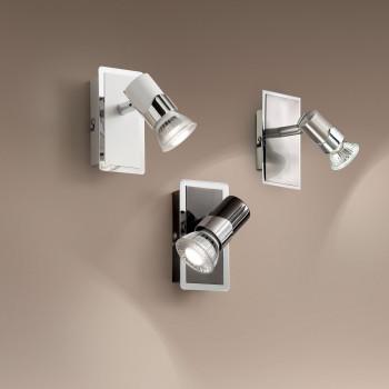 Fabas Luce Faretto da parete con 1 lampadina con interruttore Alice     2554-81