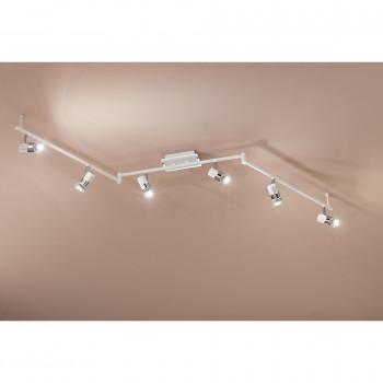 Fabas Luce Faretti da soffitto in metallo a 6 lampadine in stile moderno Alice     2554-86