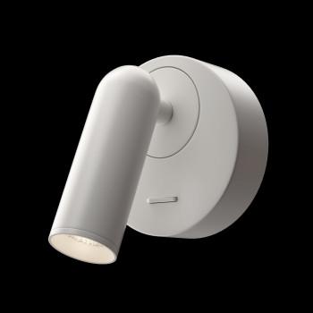 Maytoni Appliques da parete a LED in metallo con faretto orientabile rotondo Mirax  Lumen 150 3000k Luce Calda  C038WL-L3
