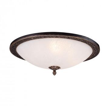 Maytoni Lampada da Soffitto classica struttra in metallo e paralume in vetro Aritos