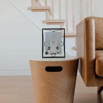 Umbra Portafoto in metallo da tavolo o da parete in stile moderno orientabile Prisma    13x18 313015