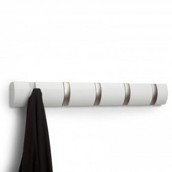 Umbra Attaccapanni da muro Flip con ganci ribaltabili Moderno