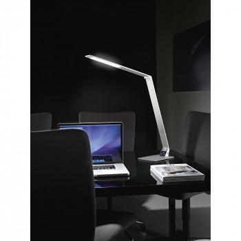 Fabas Luce Lampada da scrivania a LED dimmerabile e orientabile in metallo design moderno Wasp Alluminio Lumen 900 3000k-4000k Dimmerabile  3265-30-212