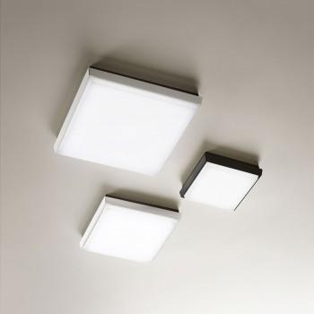 Fabas Luce Lampada da soffitto per esterno a LED struttura in alluminio dal design moderno Desdy  Lumen 900 3000k Luce Calda  3314-69