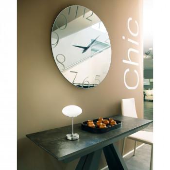 Fabas Luce Lampada da tavolo a LED in metallo e diffusore in vetro dallo stile moderno Jap Nichel Lumen 450 3000k Luce Calda  3339-30-178
