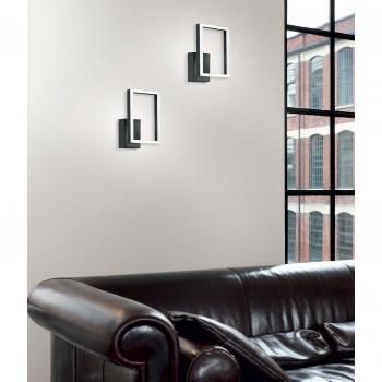 Fabas Luce Plafoniera piccola a LED in stile moderno con struttura in metallo Bard  Lumen 1980 3000k Luce Calda  3394-21
