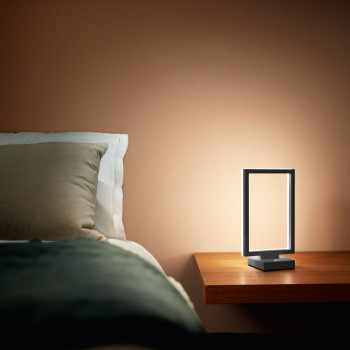 Fabas Luce Abatjour a LED in stile moderno con struttura in metallo Bard  Lumen 1350 3000k Luce Calda  3394-30