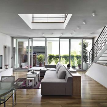 Fabas Luce Faretto da soffitto con struttura in metallo con 1 luce a LED Anzio  Lumen 540 3000k Luce Calda  3430-71