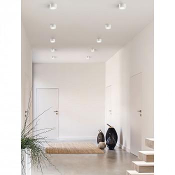 Fabas Luce Faretto da soffitto 1 luce a LED con struttura in metallo Ponza  Lumen 630 3000k Luce Calda  3440-71