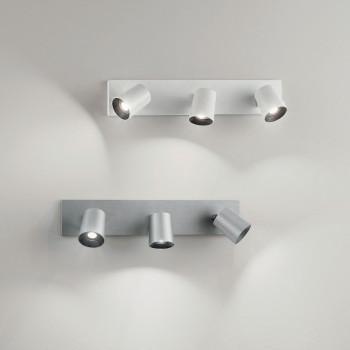 Fabas Luce Faretto da parete 3 luci con struttura in alluminio dal design moderno Modo     3451-83