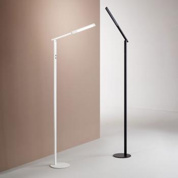 Fabas Luce Piantana moderna a LED con struttura in alluminio per soggiorno e salotto Ideal  Lumen 770 3000k-4000k Dimmerabile  3550-11