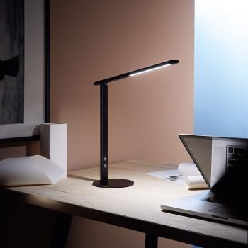 Fabas Luce Lampada da scrivania a LED struttura in alluminio dal design moderno Ideal  Lumen 770 3000k-4000k Dimmerabile  3550-30