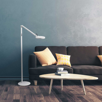 Fabas Luce Piantana moderna orientabile a LED dimmerabile con struttura in metallo Regina  Lumen 1000 3000k-4000k Dimmerabile  3551-11