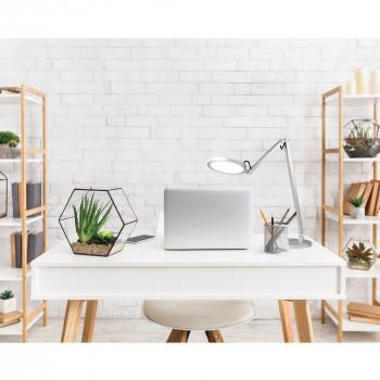 Fabas Luce Lampada da scrivania a LED orientabile e dimmerabile con struttura in metallo Regina  Lumen 1000 3000k-4000k Dimmerabile  3551-30