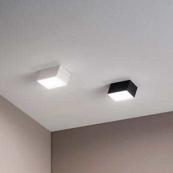 Fabas Luce Faretto a soffitto a LED con struttura in metallo in stile moderno Lucas  Lumen 900 4000k Luce Naturale  3601-81