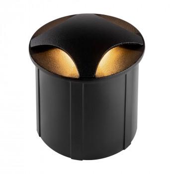 Maytoni Faretto da incasso a LED rotondo dal design moderno in alluminio Biscotti  Lumen 60 3000k Luce Calda  O036-L3B3K