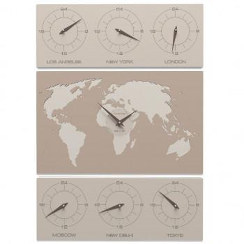 CalleaDesign Orologio da parete verticale Cosmo     12-008
