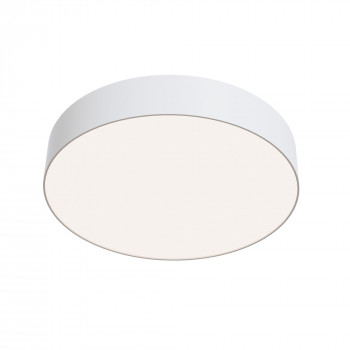 Maytoni Lampada da soffitto a LED grande rotonda in alluminio dal design moderno Zon  Lumen 3900 4000k Luce Naturale  C032CL-L43