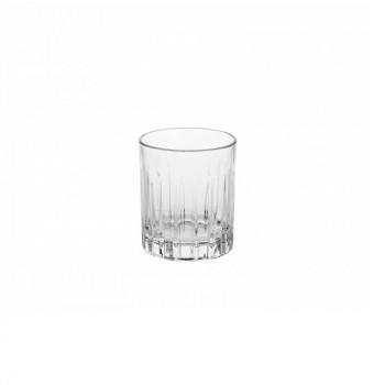 Brandani Bicchieri per liquore set 6pz in vetro Vela Trasparente    B53575