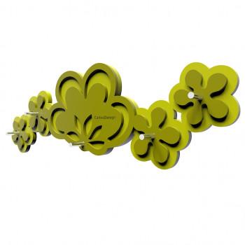 CalleaDesign Portachiavi magnetico da parete in legno Merletto
