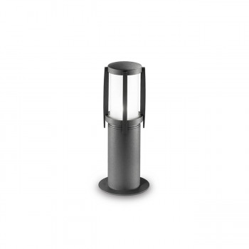 Perenz Palo in alluminio piccolo per esterni verniciato per sentieri e giardini Oscar Grafite    5638A