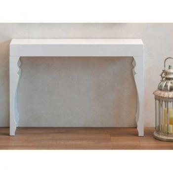 Brandani Consolle da parete in legno dallo stile classico  Bianco    57534