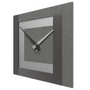 CalleaDesign Orologio da parete in legno piccolo per soggiorno Clock     58-10-1
