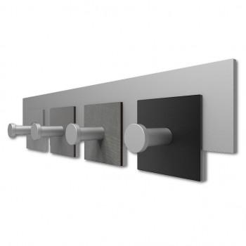 CalleaDesign Attaccapanni a parete moderno in legno CoatRack