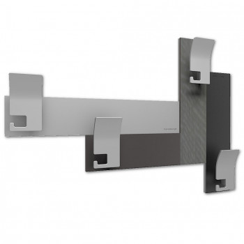 CalleaDesign Attaccapanni da parete moderno per ingresso CoatRack     58-13-3