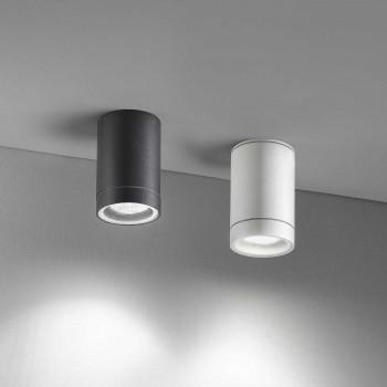 Perenz Lampada da soffitto rotonda per esterni in alluminio dal design moderno