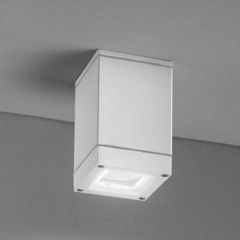 Perenz Lampada da soffitto per esterni in alluminio dal design moderno
