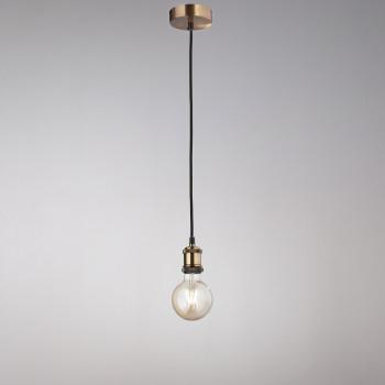 Perenz Lampada a sospensione di design moderno in metallo ottone brunito