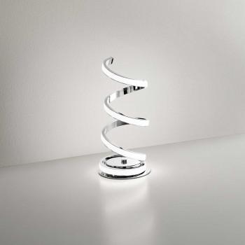 Perenz Lampada da tavolo a LED di design moderno ed elegante in metallo   Lumen 1840