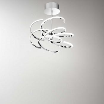 Perenz Plafoniera a LED di design moderno in metallo per salotto e camera da letto   Lumen 5600