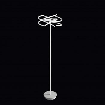 Perenz Piantana a LED di design moderno in metallo per soggiorno   Lumen 5600