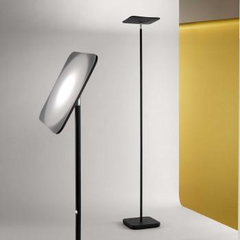 Perenz Piantana a LED posizione regolabile di design moderno in metallo  Radar  Lumen 1900 3000k Luce Calda  6587