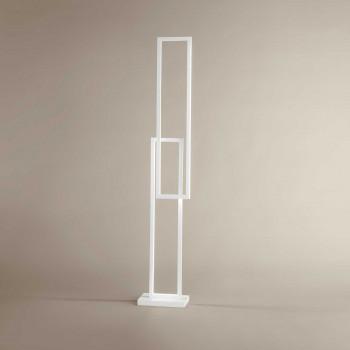 Perenz Piantana a LED in stile minimalista moderno in alluminio verniciato  Cross  Lumen 4800 3000k-4000k-6000k Dimmerabile  6599
