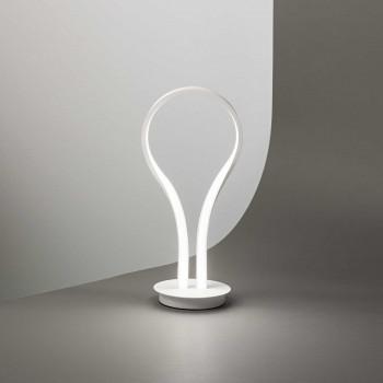 """Perenz Lampada da tavolo a LED in stile moderno minimalista in metallo """"Blossom""""   Lumen 1040 3000k Luce Calda"""