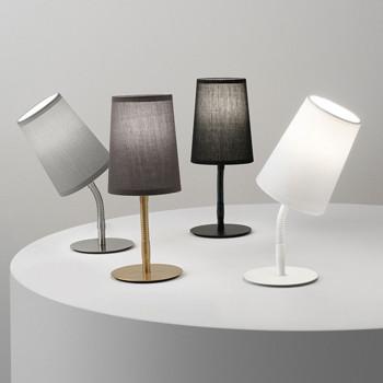 Perenz Lampada da tavolo moderna in metallo con struttura flessibile e orientabile Mash     6696