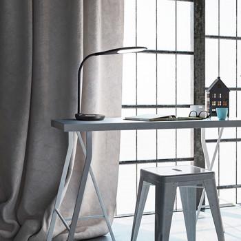 Perenz Lampada da tavolo a LED orientabile con carica batterie wireless e porta USB Ego  Lumen 560 3000k-4500k-6500k Dimmerabile  6722