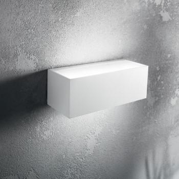 Perenz Applique da parete biemissione per esterni/interni piccola in alluminio Step     6730